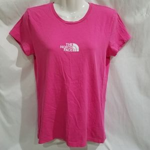 The North Face Pink T-shirt Size Small